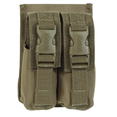 Voodoo Tactical M16 Flash Bang Pouch-Double - Mad City Outdoor Gear