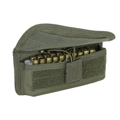 Voodoo Tactical 20 Round Shooters Pouch with Hook n Loop Panel On Back