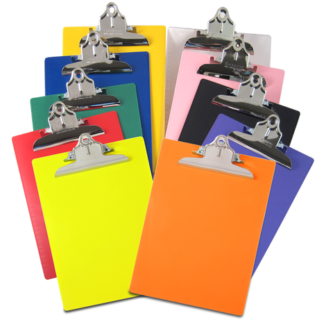 Saunders Recycled Plastic Clipboard – Letter/A4 Size – High Capacity Clip - Mad City Outdoor Gear