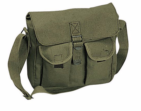 Rothco Canvas Ammo Shoulder Bag - Mad City Outdoor Gear