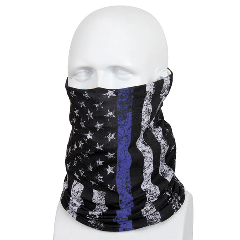 Rothco Thin Blue Line Multi-Use Tactical Wrap