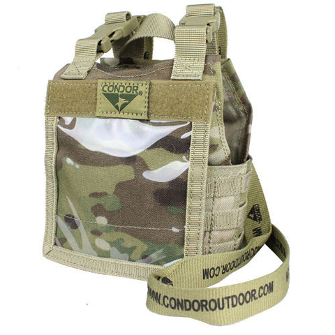 Condor Mini Exo Plate Carrier ID Panel - MultiCam