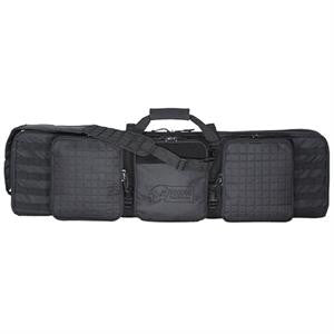 "Voodoo Tactical 42"" Deluxe Padded Weapons Case includes 6 Black Locks - Mad City Outdoor Gear"