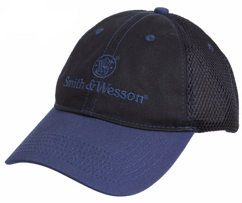 Smith & Wesson Mesh Back Logo Cap