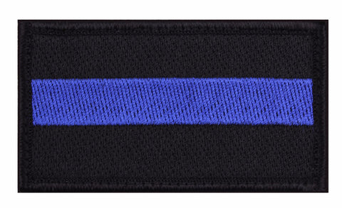 Rothco Thin Blue Line Morale Patch
