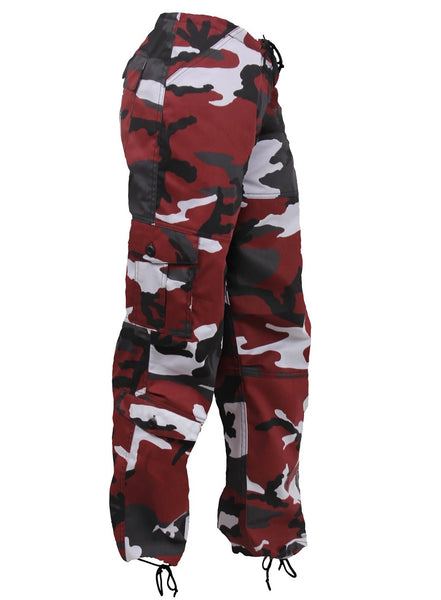 9eb347503 Rothco Womens Paratrooper Colored Red Camo Fatigues – Mad City ...
