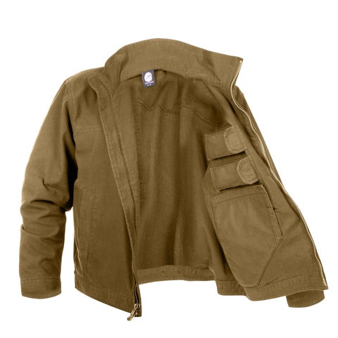 Rothco Lightweight Concealed Carry Jacket - Coyote Brown