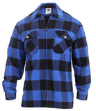 Rothco Heavy Weight Solid Flannel Shirt