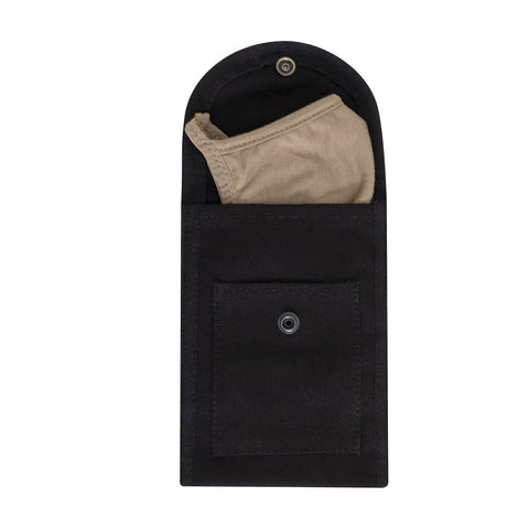 Rothco Face Mask Pouch - Black