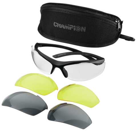 Bushnell Eye Protection Glasses with Interchangeable Lens by Champion Traps And Targets