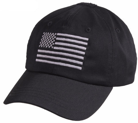 Rothco Tactical Operator Cap With US Flag - Mad City Outdoor Gear