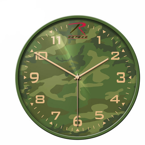 Rothco Camo Wall Clock