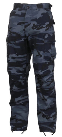 Rothco Color Midnight Blue Camo Tactical BDU Pants