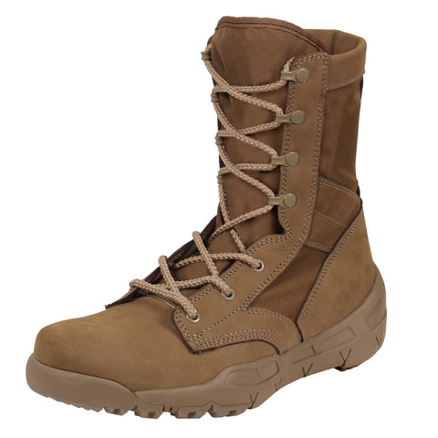 Rothco V-Max Lightweight Tactical Boot - AR 670-1 Coyote