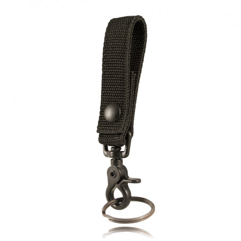 Boston Leather Deluxe Key Holder, Ballistic Weave
