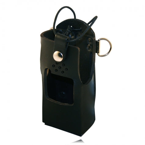 Boston Leather Firefighter Radio Holder for Kenwood TK-2180/3180