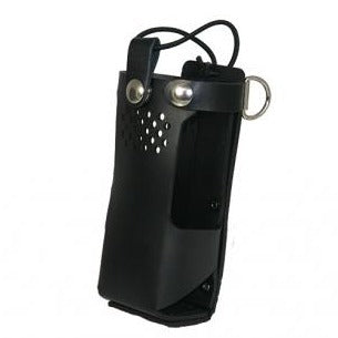Boston Leather Firefighter's Radio Holder for Motorola APX6000/APX 8000 and XE Models 1.5