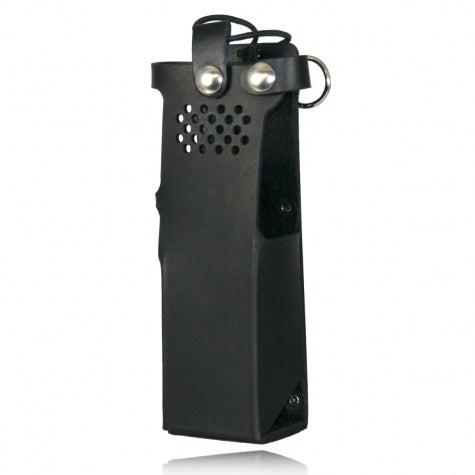 Boston Leather Firefighter Radio Holder for Motorola APX6000/APX 6000 XE Models 2.5 & 3.5