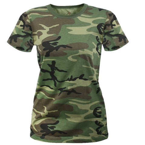 Rothco Rothco Womens Long Length Camo T-Shirt