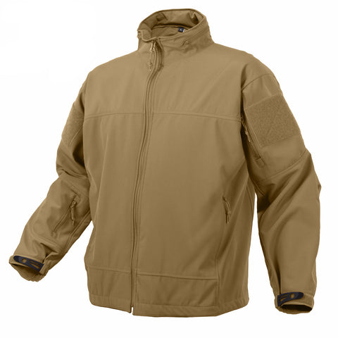 Rothco Covert Ops Light Weight Soft Shell Jacket - Mad City Outdoor Gear