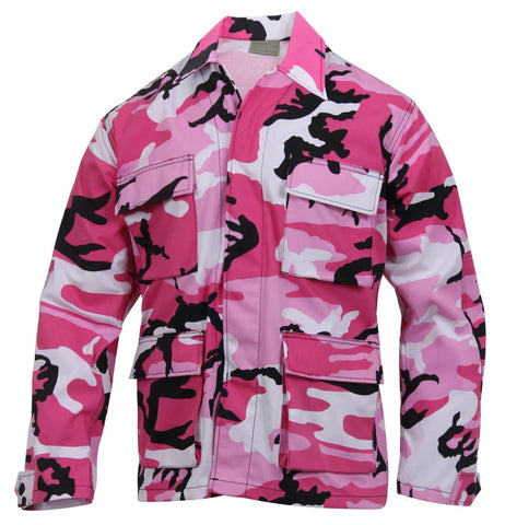 Rothco Color Pink Camo BDU Shirt