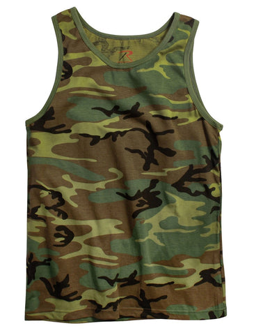 Rothco Camouflage Tank Top
