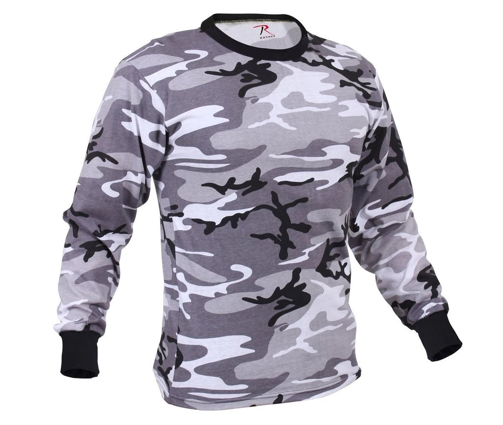 89d546f9 Rothco Long Sleeve Colored Camo T-Shirt ready to ship for $12.99. – Mad  City Outdoor Gear