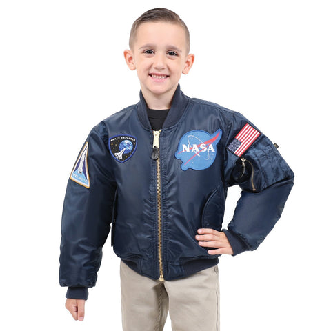 Rothco Kids NASA MA-1 Flight Jacket