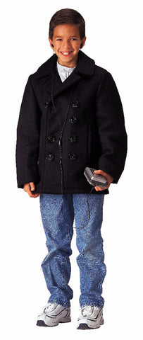 DISCONTINUED - Kids U.S. Type Wool Peacoat