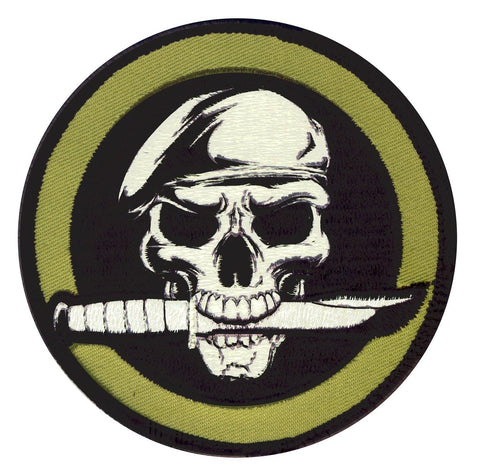 Rothco Military Skull Morale Patch