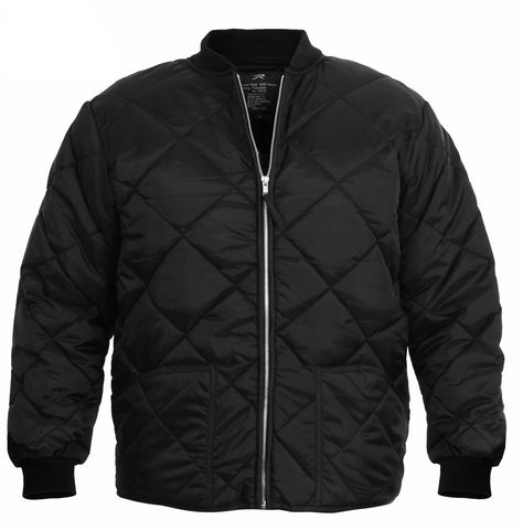Rothco Diamond Nylon Quilted Flight Jacket - Mad City Outdoor Gear