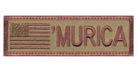 "Rothco ""Murica"" Flag Morale Patch"