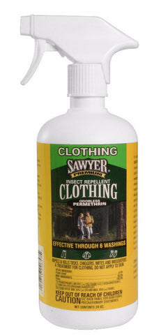 Sawyer Permethrin Clothing Insect Repellent Trigger Spray