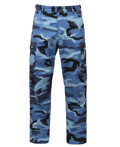 Rothco Color Sky Blue Camo Tactical BDU Pants