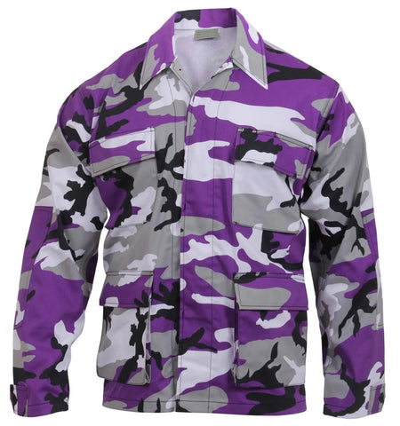 Rothco Color Ultra Violet Camo BDU Shirt