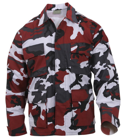 Rothco Color Red Camo BDU Shirt