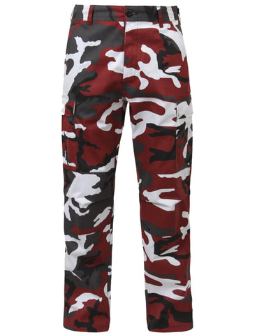 Rothco Color Red Camo Tactical BDU Pant