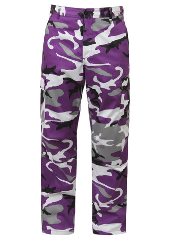 Rothco Color Ultra Violet Camo Tactical BDU Pant
