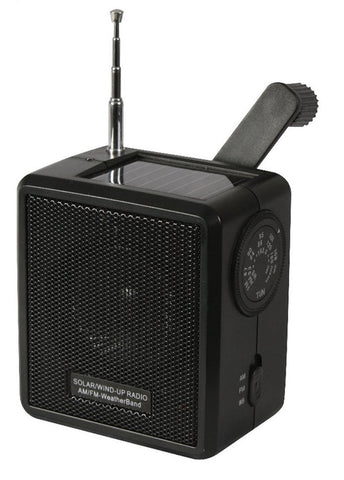 Rothco Solar/Wind Up Radio