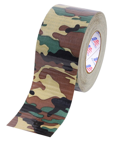 "Rothco 2"" Woodland Camo Duct Tape"