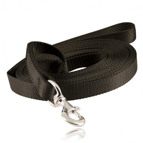 "Boston Leather 30"" K-9 Lead, Ballistic Weave"