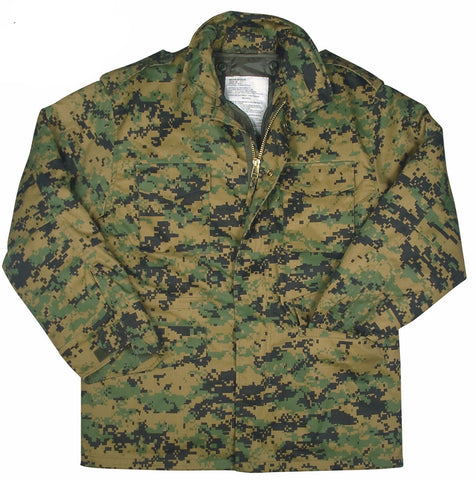31fe26b059932 Rothco M-65 Camo Field Jacket - Mad City Outdoor Gear