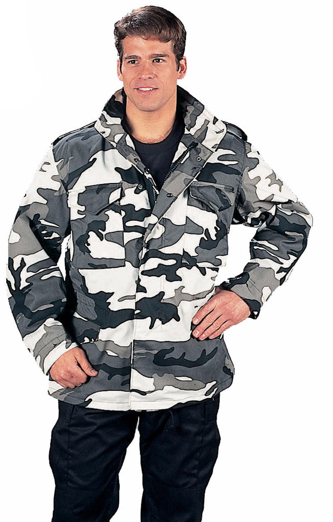 0bf3bb1227408 Rothco M-65 Camo Field Jacket – Mad City Outdoor Gear