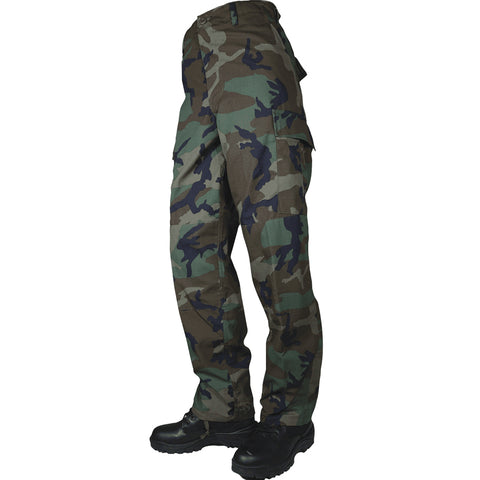 Tru-Spec 8-Pocket BDU Camouflage Pants