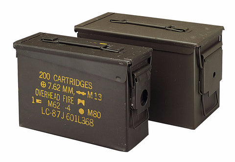 GI .30 & .50 Caliber Ammo Cans - Surplus