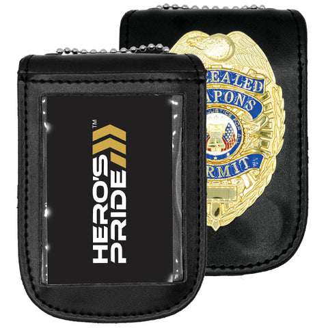 Hero's Pride Badge Holder with Magnetic Case