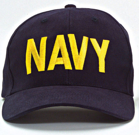 Rothco Navy Supreme Low Profile Insignia Cap
