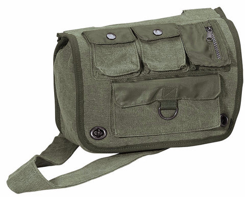 Rothco Vintage Canvas Venturer Survivor Shoulder Bag
