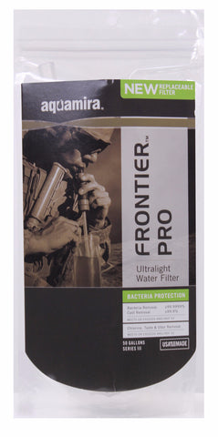 Aquamira Tactical Frontier Pro Water Filter