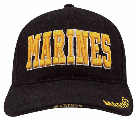 Rothco Deluxe Marines Low Profile Insignia Cap - Mad City Outdoor Gear